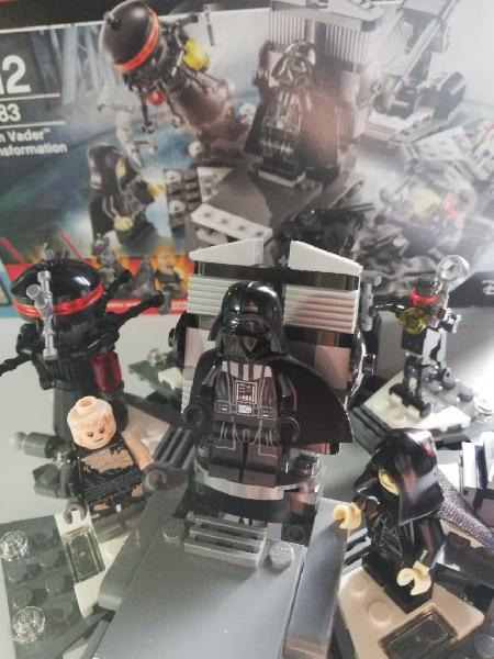 Lego star wars 7-12 darth vader transformation