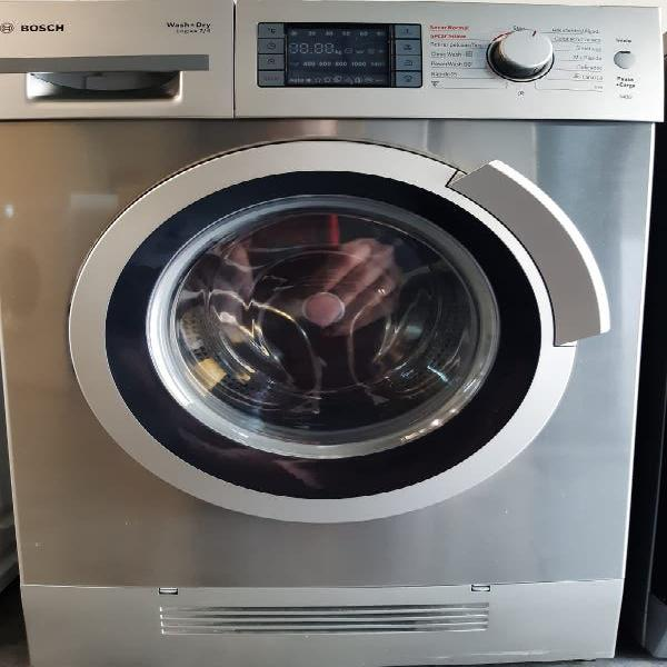 Llevo 16 abril lavadora secadora bosch inox 7 k