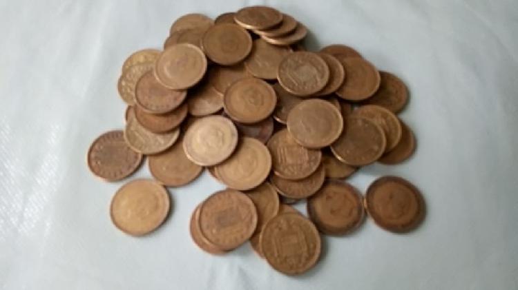 Lote pesetas francisco franco de 1966