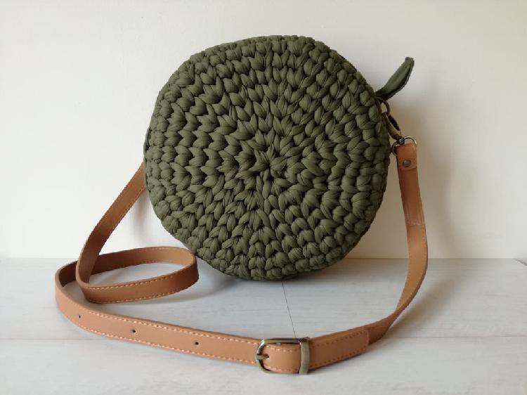 Novedad - bolso macaron verde nuevo