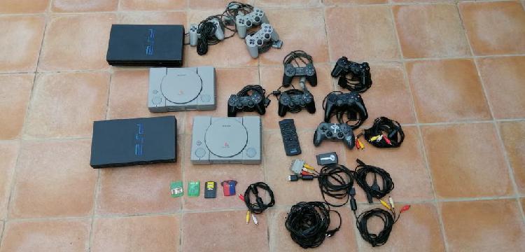 Pack consolas psx y ps2