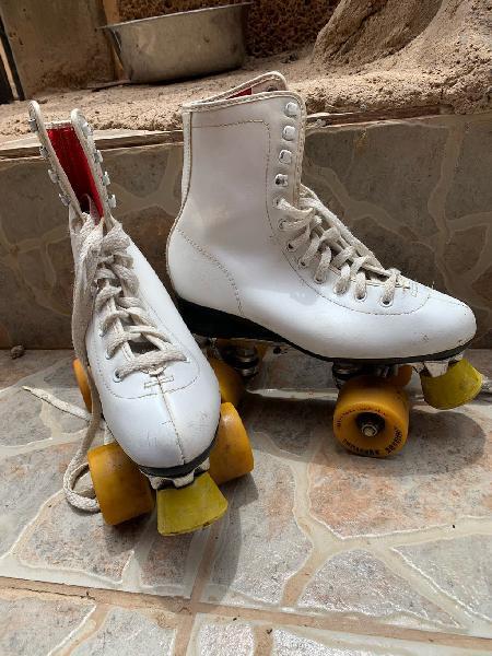 Patines boomerang vintages 4 ruedas