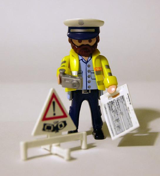 Policia trafico serie 13 playmobil