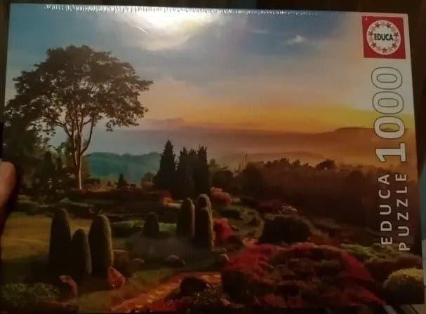 Puzzle paisaje 1.000 piezas