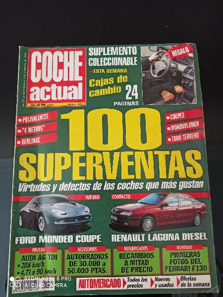 Revista coche actual número 345