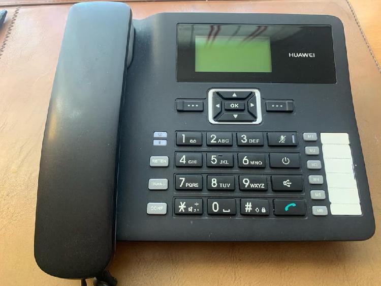 Teléfono huawei móvil despacho sobremesa libre