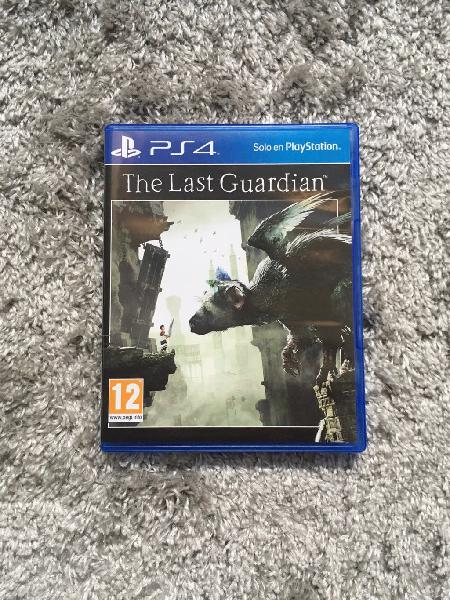 The last guardian juego ps4