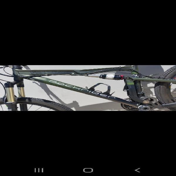 """Bicicleta montaña rockrider 9.2 talla m 26"""""""