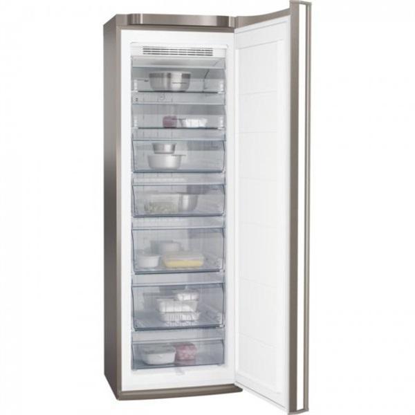 Aeg agb72526nx - congelador vertical de 185 cm inox