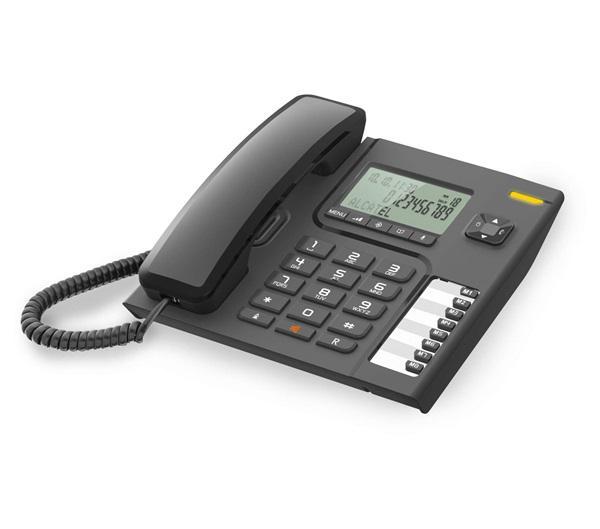 Alcatel t76 - teléfono fijo función manos libres negro 8