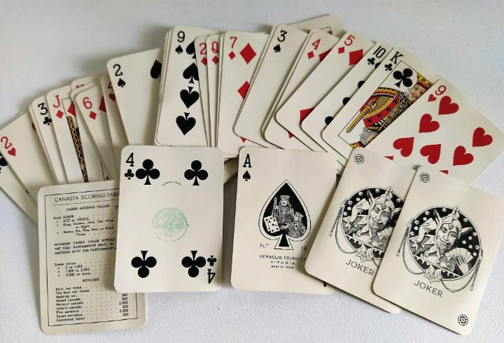 Baraja póker 54 cartas heraclio fournier nº 18 (timbre) /