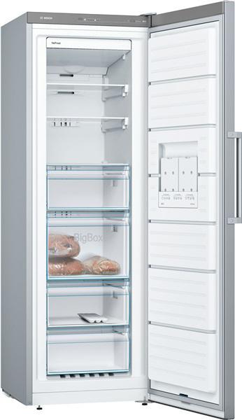Bosch gsn33vl3p - congelador vertical 176x60cm inox mate
