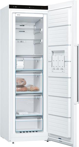 Bosch gsn36aw3p - congelador vertical 186cm a++ nofrost side
