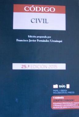 Codigo civil (aranzadi 2015)