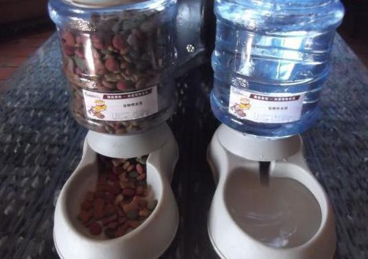 Comederos 3,7 litros para cachorros y gatos