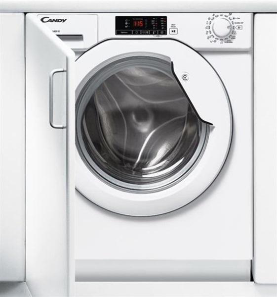 Candy cbwm 814d-s - lavadora integrable de 8kg clase a+++