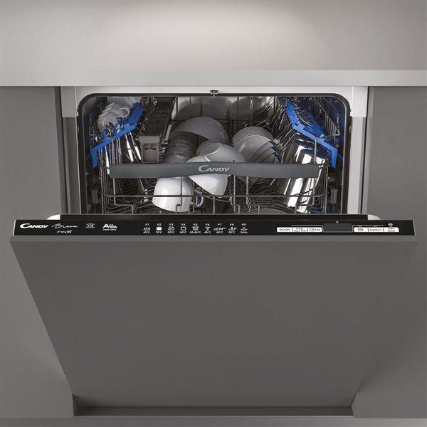 Candy cdin 2d620pb - lavavajillas integrable 16 servicios