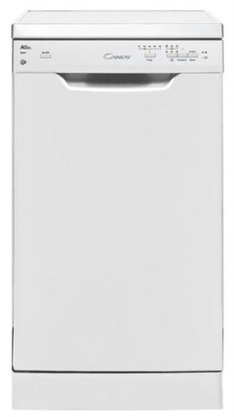 Candy cdp 2l949w - lavavajillas de 45cm blanco clase a++ 9