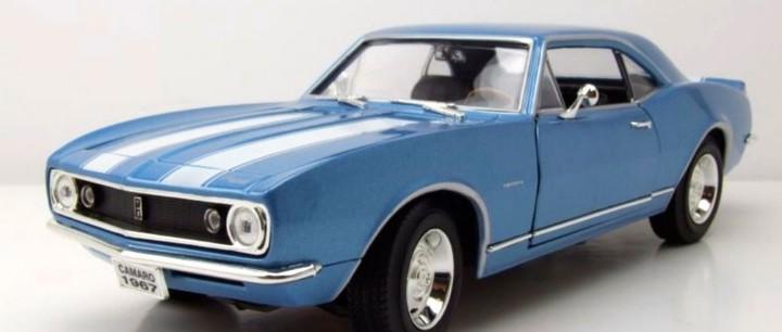 Chevrolet camaro z28 1967 escala 1/18 de lucky die cast