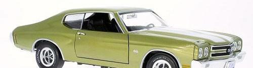 Chevrolet chevelle ss 454 1970 escala 1/18 de ertl/aw