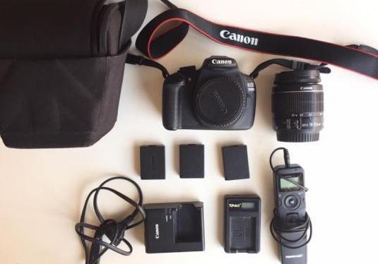 Cámara fotos canon eos 1200d pack