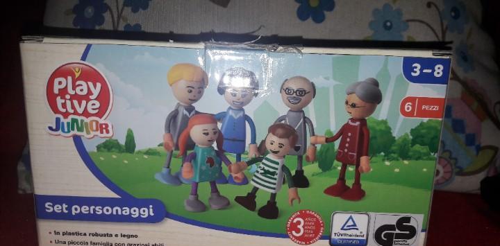 Familia mobiliario casa casita muñecas play tive junior