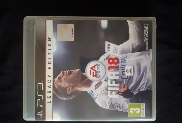 Fifa 18 - legacy edition - sony playstation 3 - ps3 -