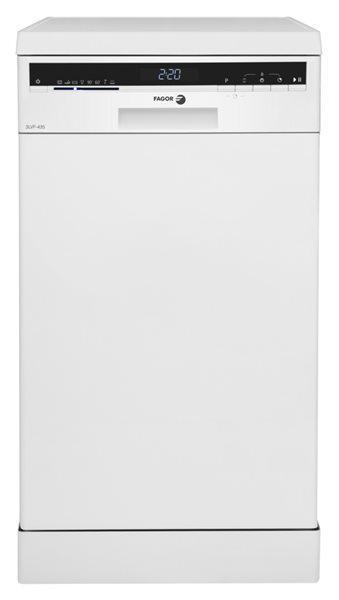 Fagor 3lvf-435 - lavavajillas blanco de 45cm a++ 47db secado