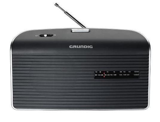 Grundig grn 1510 - radio portátil fm/am con pilas y red