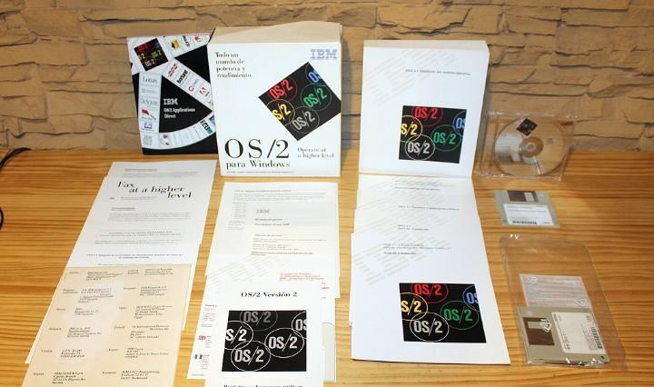 Ibm os/2 para windows - en su caja original - nuevo y