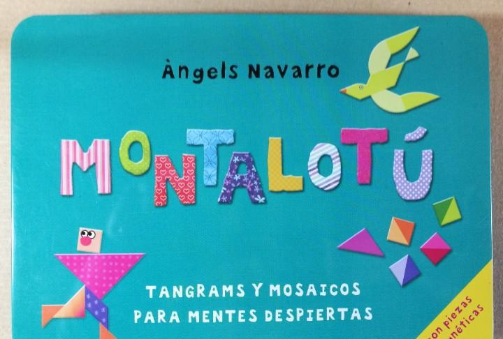 Juego magnético montalotú. tangrams y mosaicos tangram