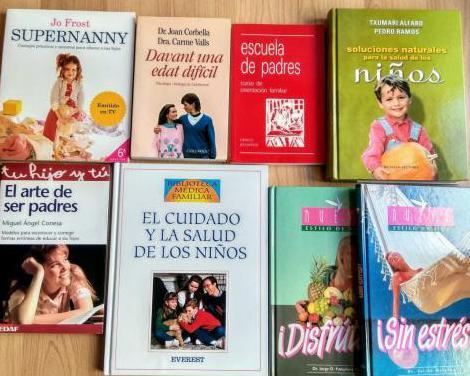 Libros educación y alimentación