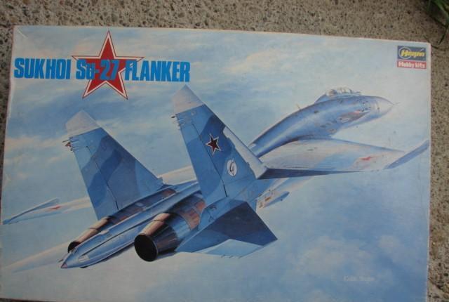 Maqueta avión sukhoí su-27 flanker - hasegawa