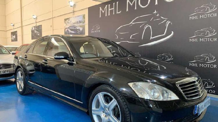 Mercedes-benz clase s berlina 387cv automático de 5 puertas