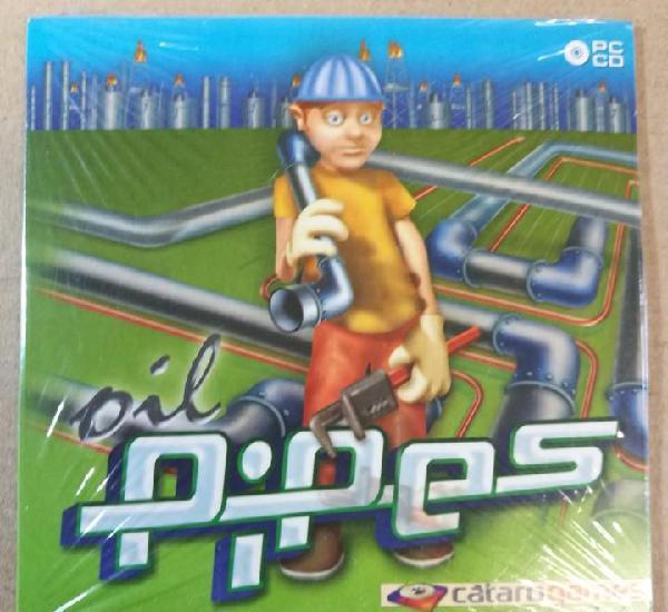 Oil pipers pc cd catarogames video juego ordenador ediciones