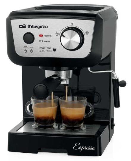 Orbegozo ex5000 - cafetera expresso 1050w 20 bar indicadores