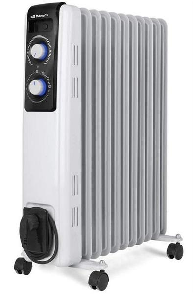 Orbegozo rf 2500 - radiador de aceite de 2500 w 11 elementos
