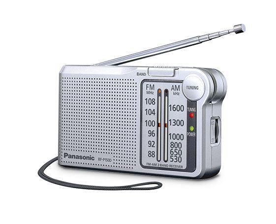 Panasonic rf-p150d - radio am/fm de bolsillo sintonizador