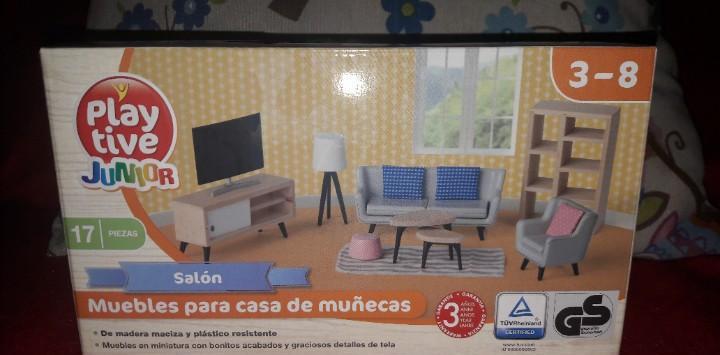 Salon mobiliario casa casita muñecas play tive junior
