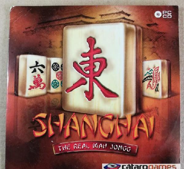 Shanghai the real mah jongg catarogames video juego cd