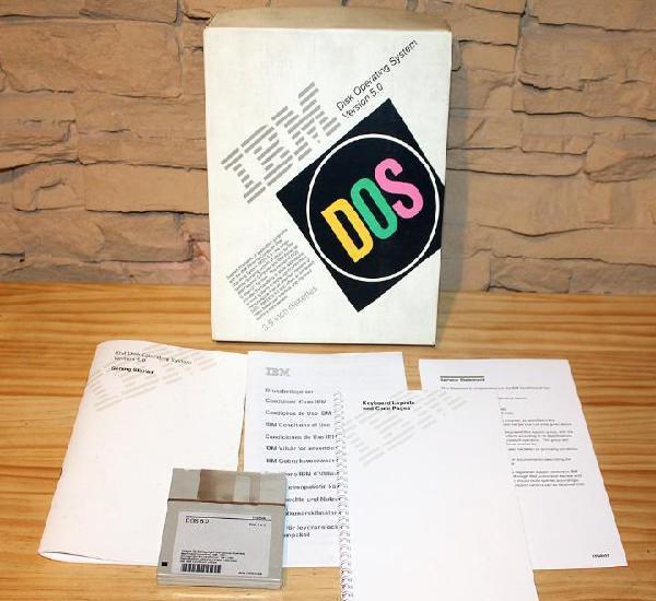 Sistema operativo dos 5.0 de ibm - precintado - informatica