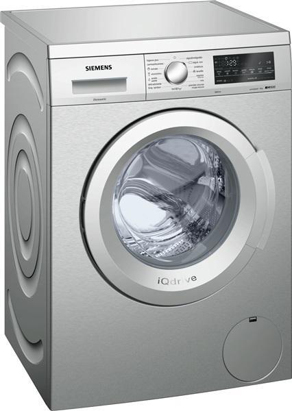 Siemens wu14q48xes - lavadora 8kg 1400rpm clase a+++ acero