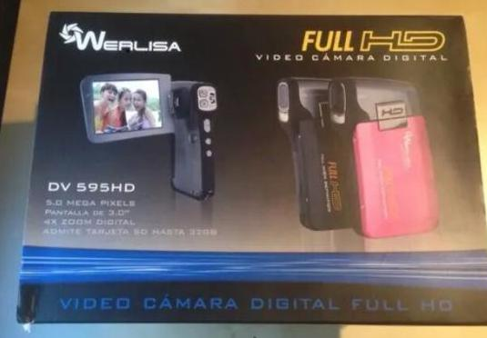 Video cámara digital full hd