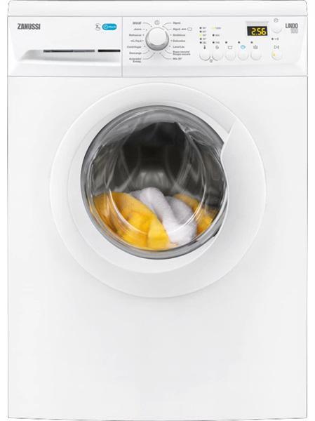Zanussi zwf71243w - lavadora de 7kg y 1200rpm con display