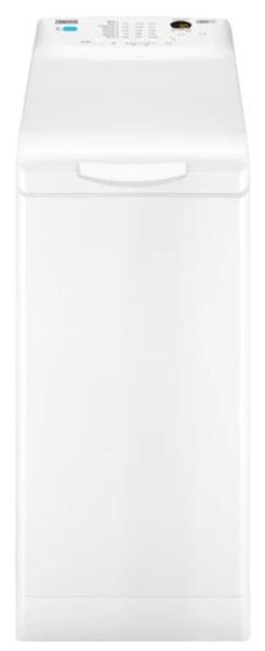 Zanussi zwq71235si - lavadora de carga superior de 7kg y