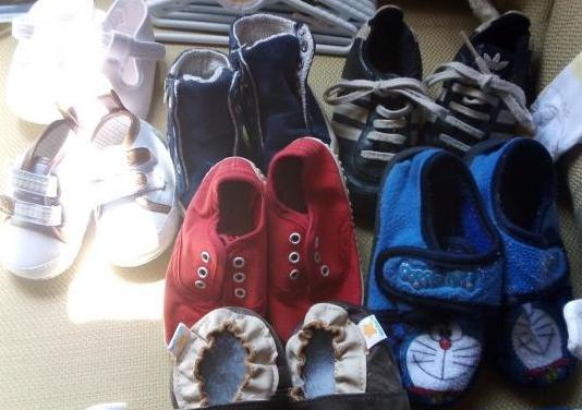 Diferentes tipos de zapatos