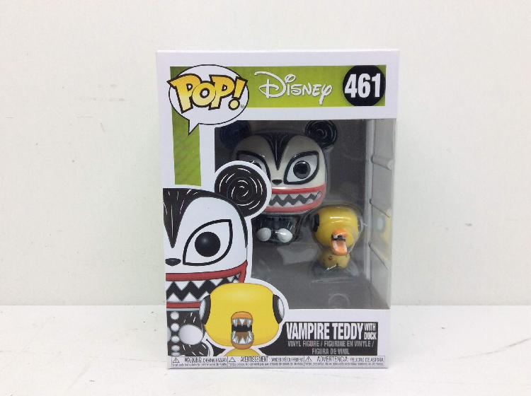 Figura accion funko pop! disney vempire teddy with duck