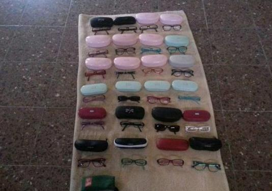 Moldura de gafas de marca puede ver