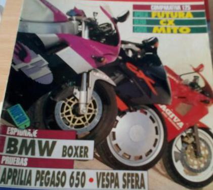 Motociclismo años 1991, 92, 98, 99