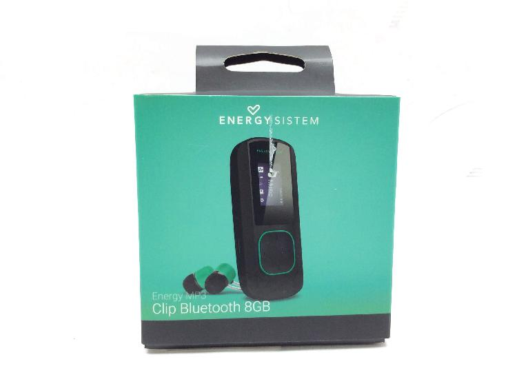 Reproductor mp3 energy sistem clip bluetoth 8gb